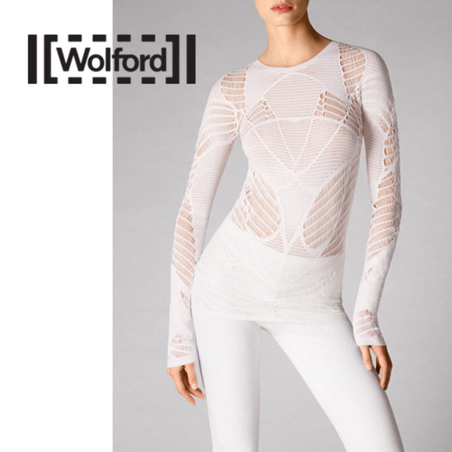 [WR52512T] NET LACE PULLOVER