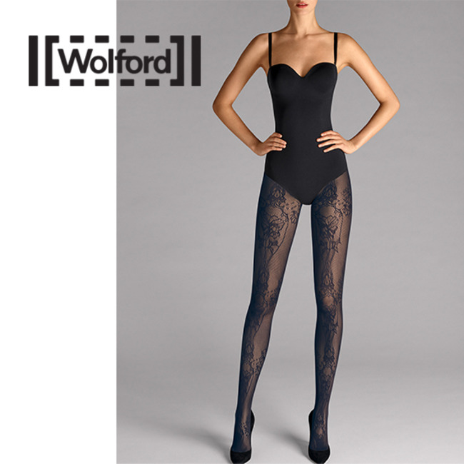 [WH19187T] NET LACE TIGHTS
