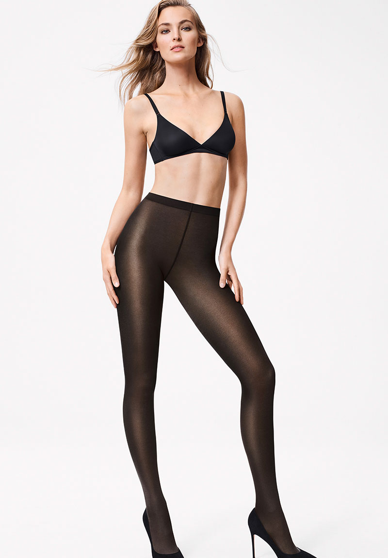 ★셀럽추천아이템★ [WE18379B] SATIN OPAQUE NATURE 50 TIGHTS